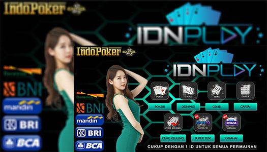 IDNPlay • Deposit IdnPlay Poker 24 JamBank BRI