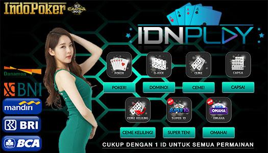 IdnPlay Poker Lokasi Bermain Poker Uang Online Asli