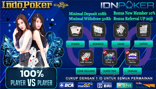 Server Idnplay Deposit Poker Online OVO Termurah 10Rb